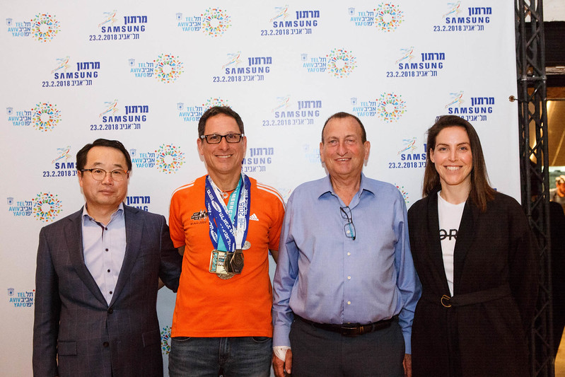 marathon samsung tel aviv press conference