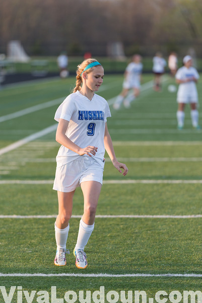 Girls Soccer: Broad Run at Tuscarora 4.22.14 (by Chas Sumser)