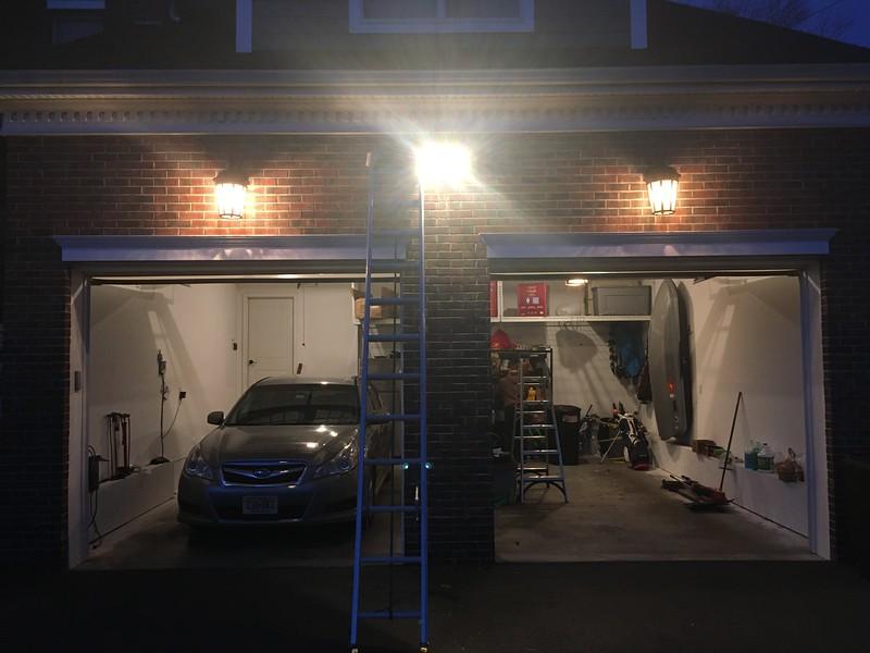 Ring flood light installed!