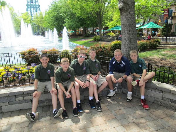 King's Dominion trip April 27
