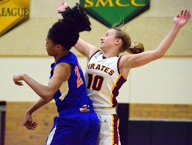 HS Sports - Riverview - Lincoln Park Girls Basketball 20