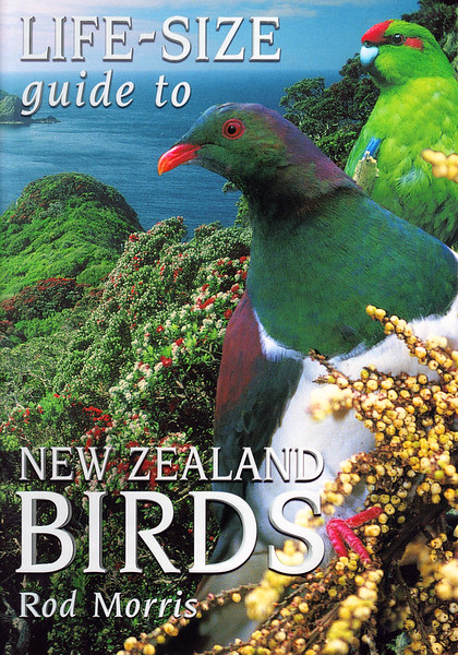 More than thirty common NZ birds feature 'life-sized' against habitat backgrounds. A colourful guide for children interested in birds, and a companion volume to REAL-SIZE GUIDE TO NEW ZEALAND BIRDS.  RRP NZ $29.95  ISBN 978-1-86941-527-2