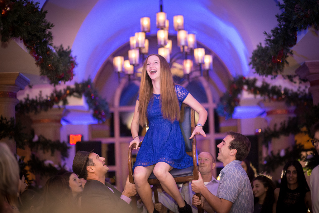 Hora at Bat Mitzvah