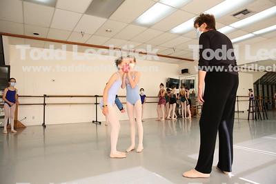 Westside Ballet Nutcracker Rehearsal  2020
