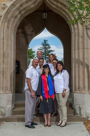 Nathalie Graduation & Family 05/08/15