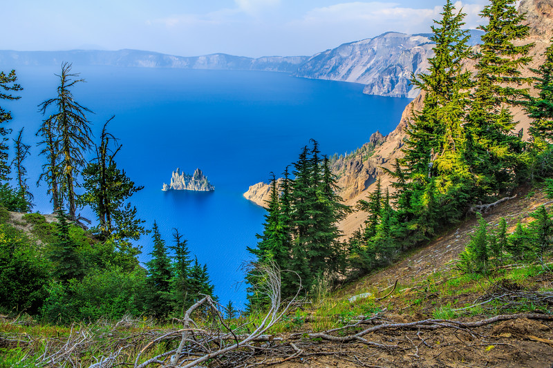 Paradise Island in Crater Lake National Park, Oregon