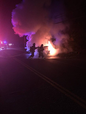 Oct. 18th - Route 62 Car Fire