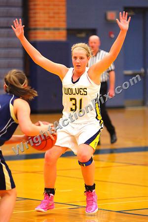 2012 02 16 Clarkston Varsity Girls Basketball vs Stoney Creek
