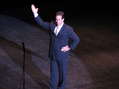 Jerry Seinfeld - 12 Oct 06 - Sacramento Community Center - Sacramento, CA