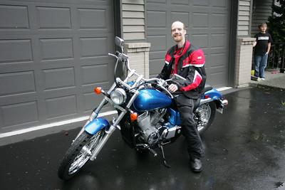 Martin's new bike