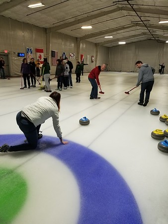 Curling lesson 4.23.18