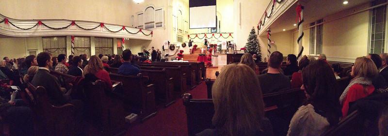Christmas Eve at Dane Street, 2012