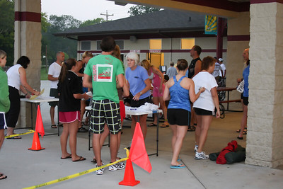 Before the Race Springbrook Triathlon 8-8-09