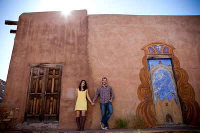 Lucas and Monica Santa Fe engagement