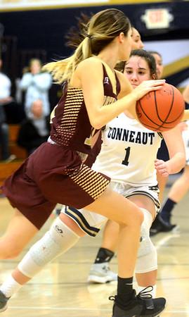 Northeast at Conneaut girls basketball 12-17-18