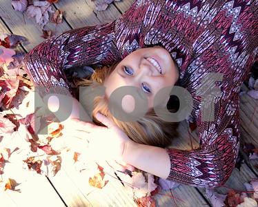 Danielle McLeod Senior 10-30-15