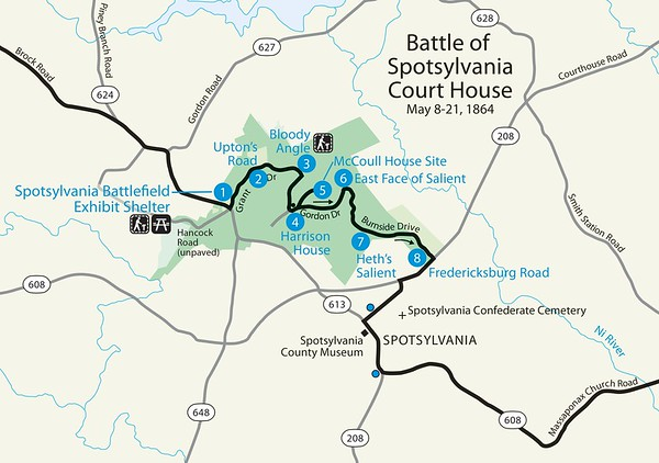 National Battlefield Park, Battlefield, & Military Park Maps