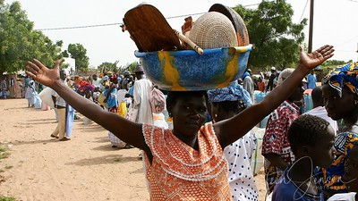 Buschen - Marked; Senegal; SN;