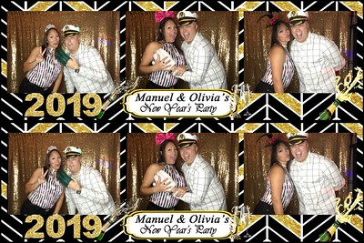 Manuel & Olivia's New Year's Party