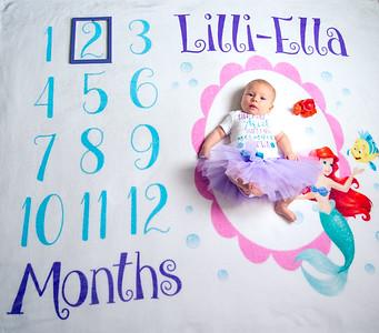 Lilli-Ella 2 months