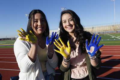 Coronado High students leave impression on new field house