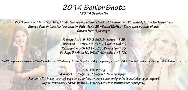 Senior Picture Info