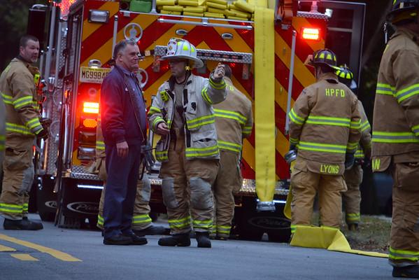 10/13/14 - Harrington Park, NJ - Reported Working Fire