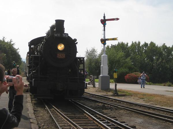 Conway Scenic Railway 21 Sept 2008
