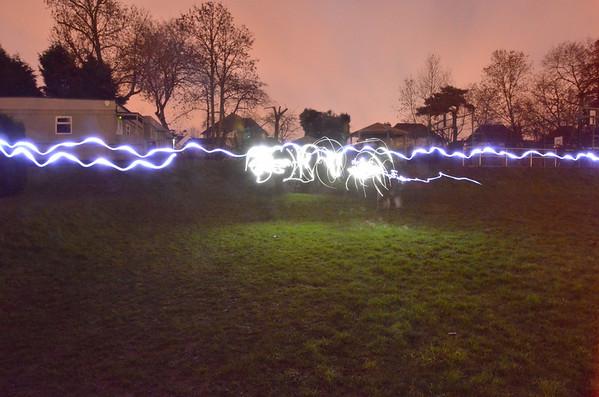 light photos and fireballs