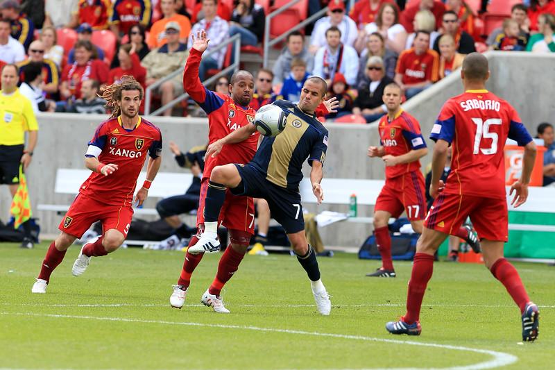 MLS: MAY 01 Philadelphia Union at Real Salt Lake