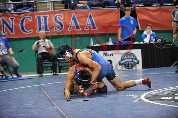 NCHSAA 2016 State Wrestling Consolation