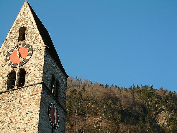 Unterseen town hall steeple