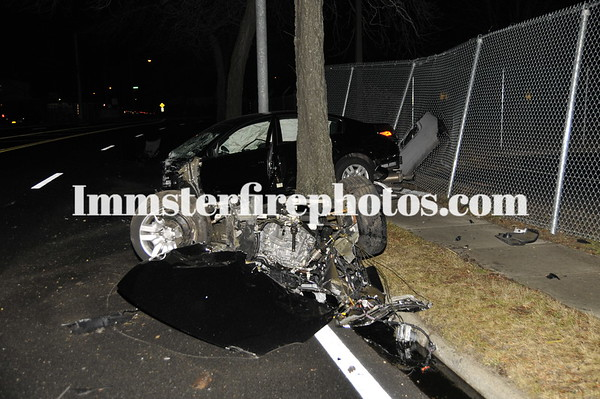 BETHPAGE MVA CAR IN TWO