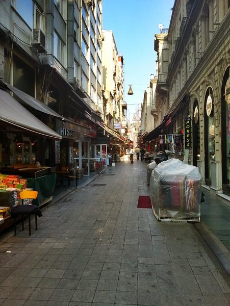 Istanbul street bazaar