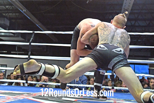 Bout #9: Ammy MMA, T.J.Phillips, Red Wrist Wraps, 154 Lbs -vs- Skyler Mauller, Blue Wrist Wraps, 154 Lbs