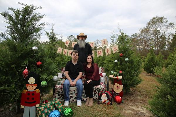 Christmas Tree Farm shoot 2020