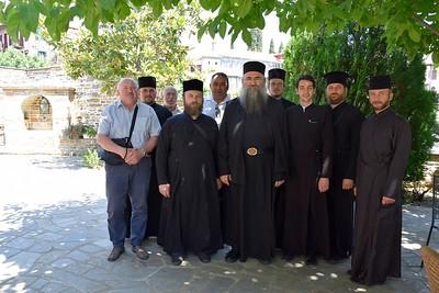 21/6/2019 Ομάδα κληρικών από την Ορθόδοξη Εκκλησία της Ουκρανίας στο Άγιο Όρος