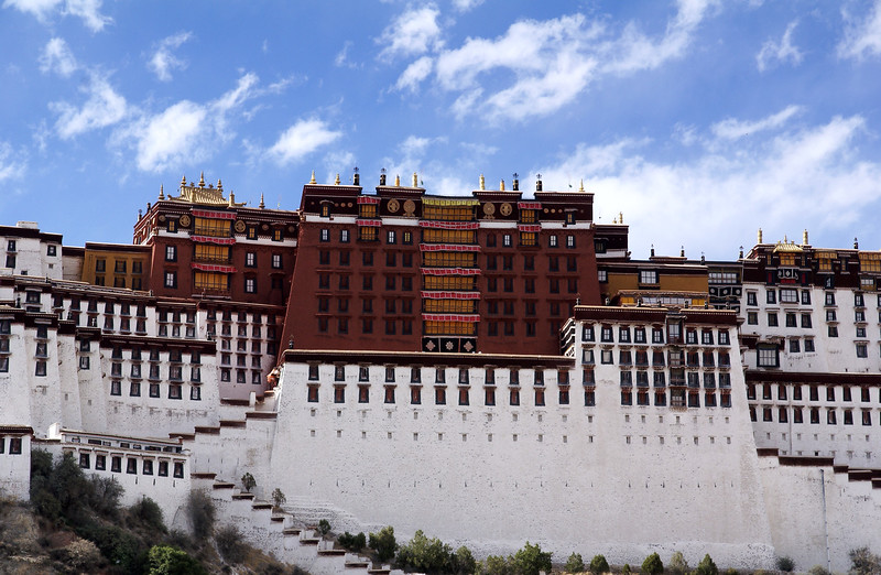 Potala Palace, center section.