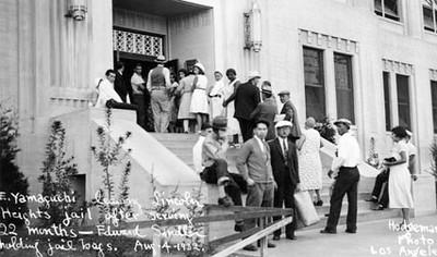 1932, Yamaguchi Leaves Jail