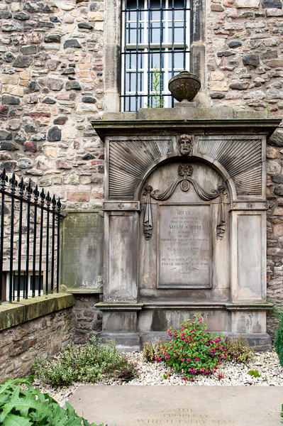 Cannongate Kirk - Adam Smith's Tomb