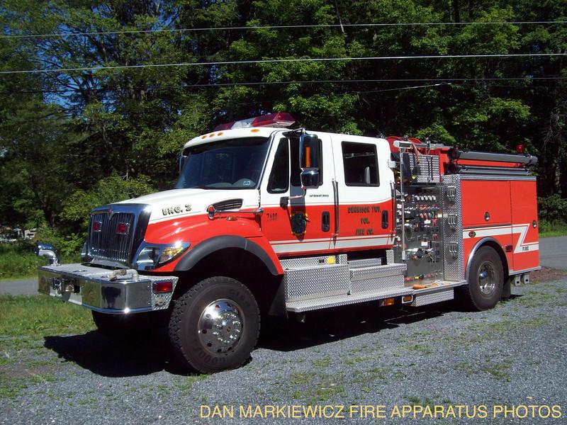 DENNISON TWP. ENGINE 2 2005 INTERNATIONAL/KME PUMPER