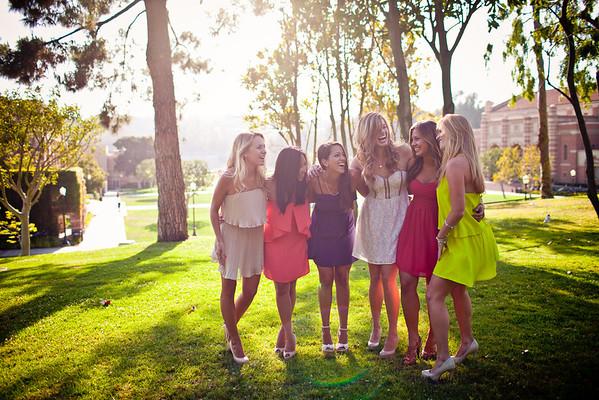 Ariane, Katie, Deanna, Ashley, Lauren & Allie