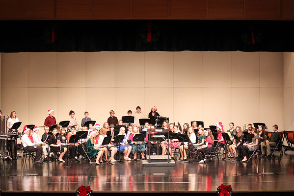 TMS 7th Grade Band Holiday Concert 2011