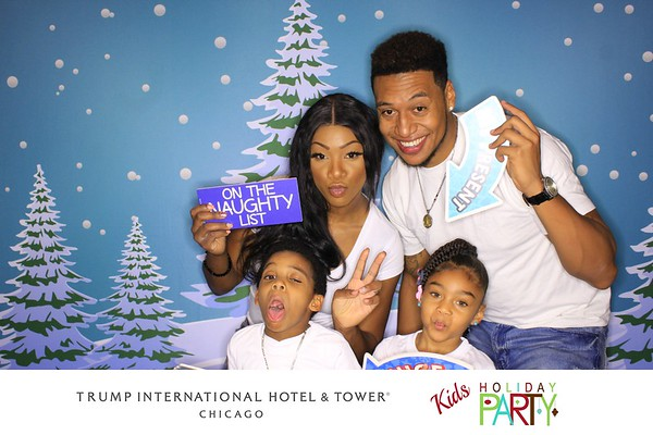 """Trump International Hotel & Tower Chicago """"Kids Holiday Party 2017"""""""