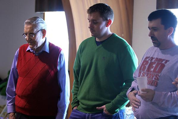 Strand Family Christmas, 2012