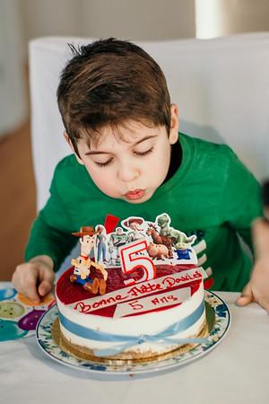 Les 5 ans de David