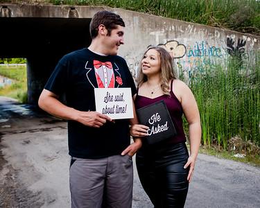Jordan + Codi Engagement