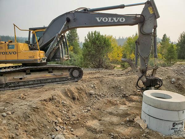 Tŝideldel-Michel Gardens Water Supply
