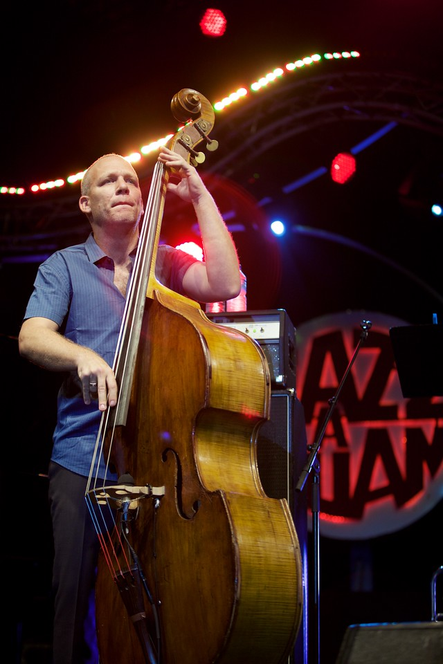 Avishai Cohen at Jazz à Juan 2015 2