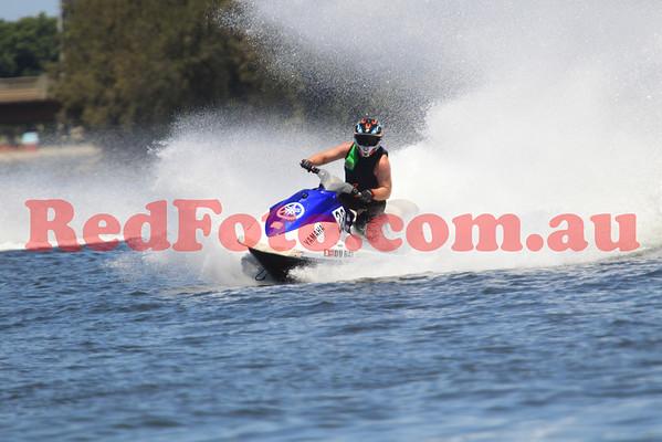 2014 02 02 Jet Sports Aussie Champs WA Runabout Stock Pro-Am Moto 2